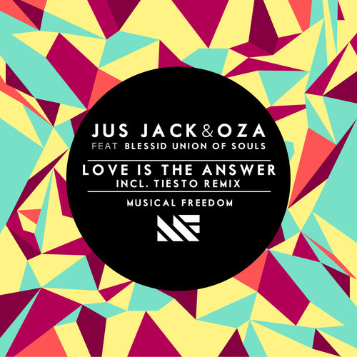Jus Jack & Oza ft. Blessid Union of Souls - Love is The Answer (Tiesto Remix)