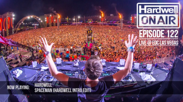 HARDWELL ON AIR 122 (EDC VEGAS 2013)