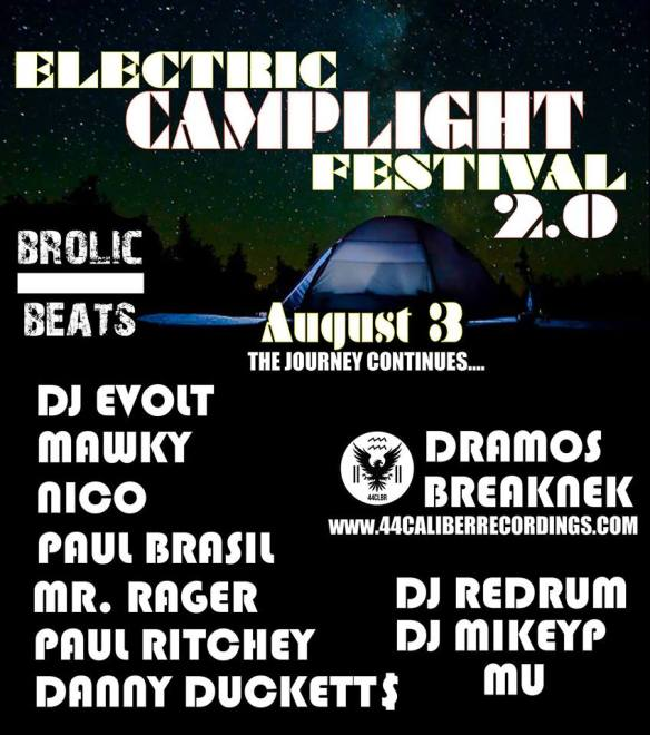 Electric Camplight Festival 2.0 Flyer